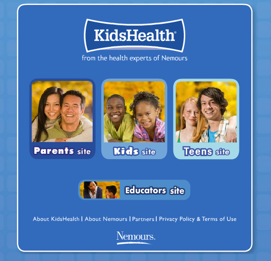 Teen sites resources for parents